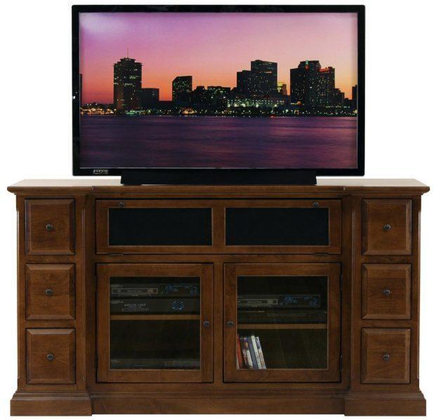 Tv Stand : Impressive Glass Tv Cabinet With Doors Image Regarding Recent Denver Tv Stands (Image 18 of 20)