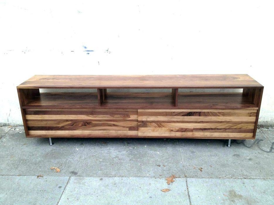 Tv Stand : Innovative Low Pallet Media Standlong Black Tv Stand Throughout Most Up To Date Long Low Tv Stands (View 7 of 20)