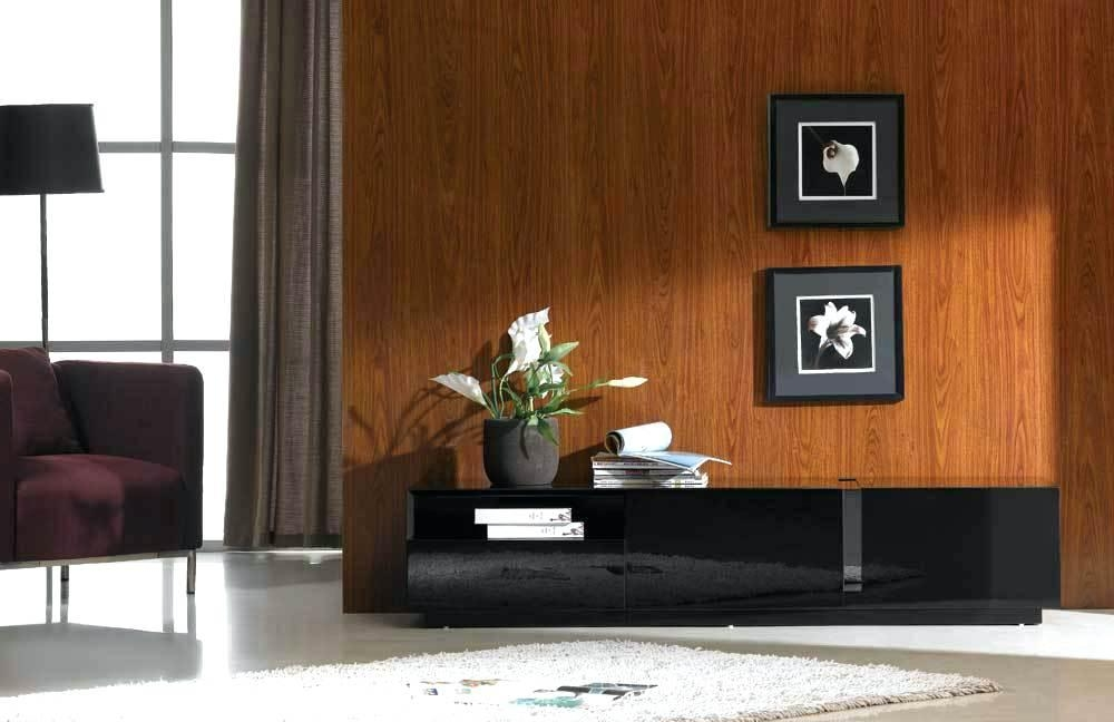 Tv Stand ~ Jm027 Black Tv Stand 176391 Jm Tv Stands At Comfycocom With Regard To Most Recently Released Shiny Black Tv Stands (View 20 of 20)