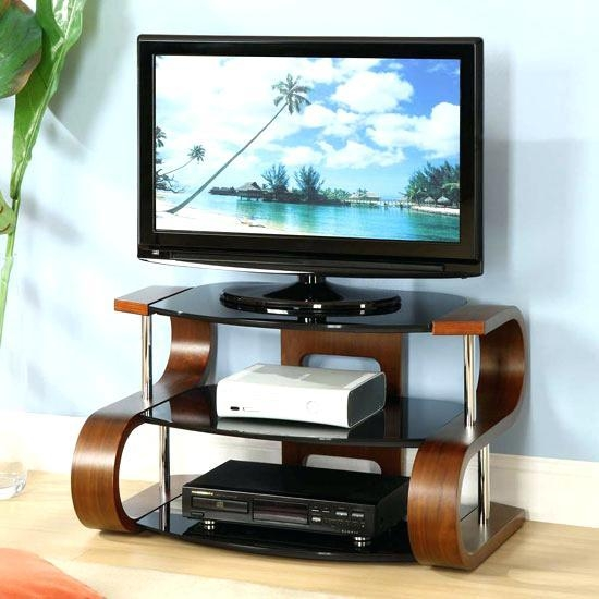 Tv Stand ~ Jual Curved Oak Tv Stand Richer Sounds A350 A Tv Stands With Regard To Most Popular Richer Sounds Tv Stand (View 10 of 20)
