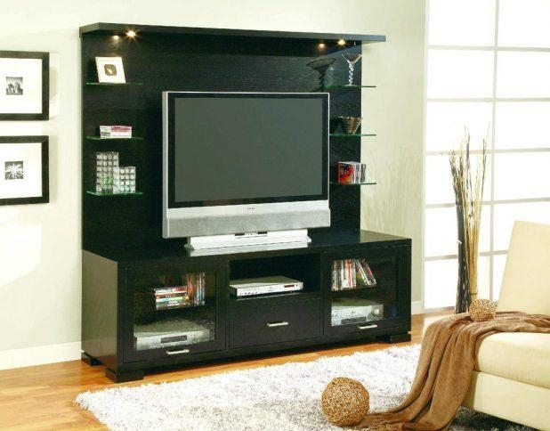 Tv Stand : Large Image For Back To Stylish Corner Tv Stands For Inside 2018 Tv Stands With Back Panel (Image 13 of 20)