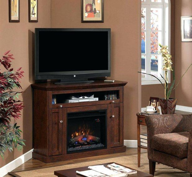 Tv Stand : Large Size Of Tv Standsmodern Dark Brown Corner Tv In Best And Newest Dark Brown Corner Tv Stands (View 5 of 20)