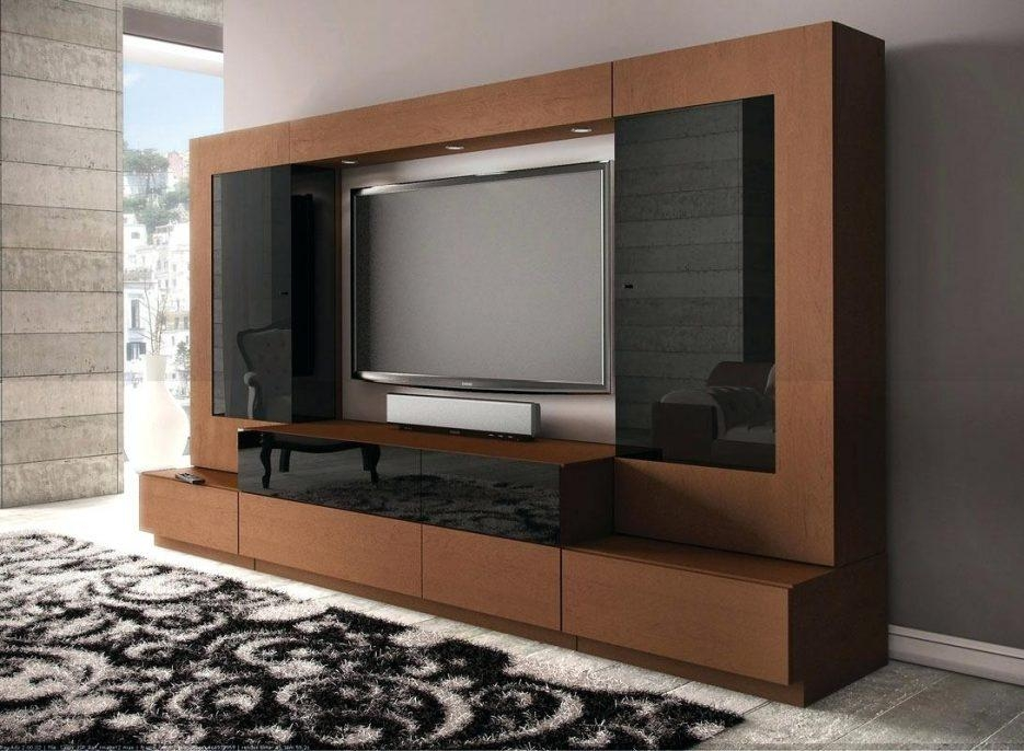 Tv Stand : Led Tv Wall Stand Design Terrific Living Room Tv Design With Regard To Most Up To Date Stylish Tv Cabinets (Image 19 of 20)