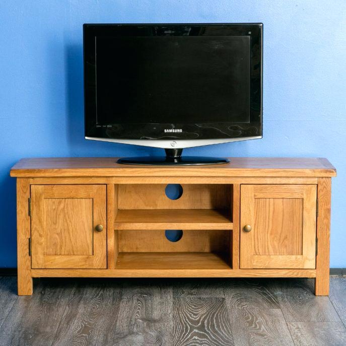 Tv Stand ~ Light Oak Tv Cabinet Uk Light Cherry Wood Tv Stand For Most Popular Cherry Wood Tv Cabinets (View 18 of 20)
