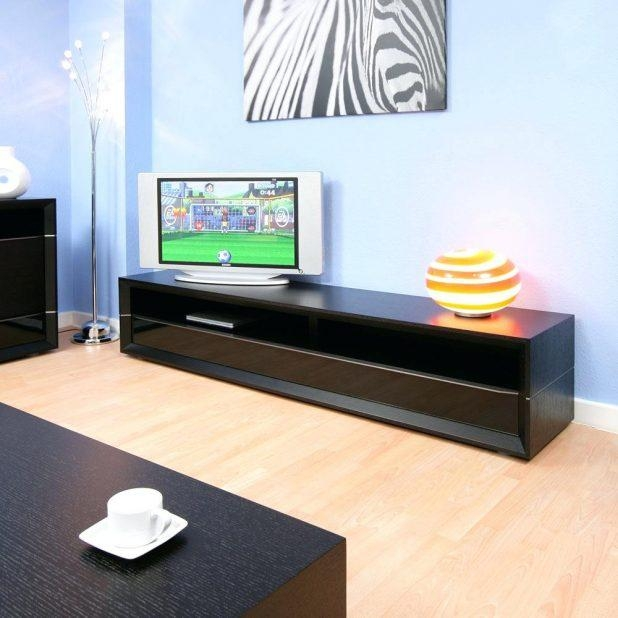 Tv Stand : Long Tv Stand White 148 An Elegant Way To Display Your With 2017 Tv Stands With Storage Baskets (Image 14 of 20)