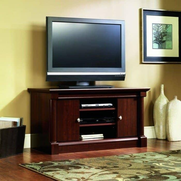 Tv Stand Madewood Materials And Have Shelves – Useful And With Recent Freestanding Tv Stands (View 12 of 20)