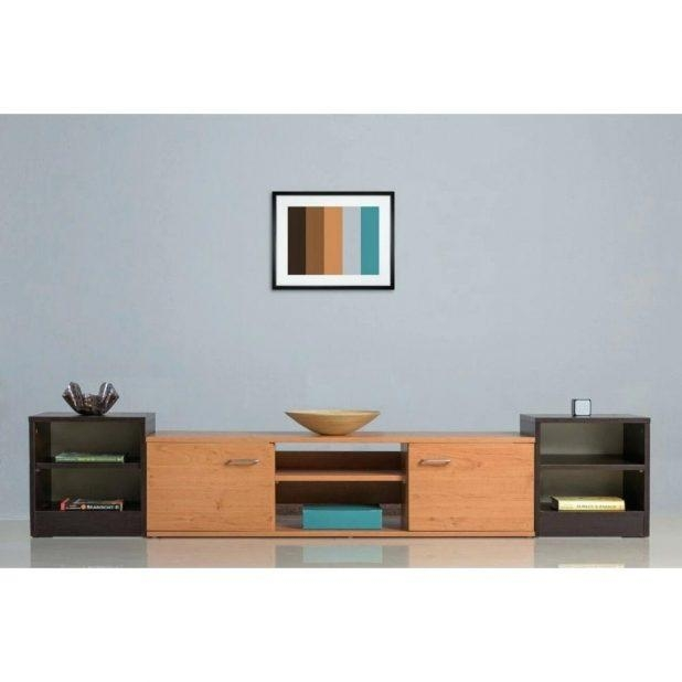 Tv Stand : Mesmerizing Clip Wooden Tv Stand Core Beech 2 Drawers Intended For Recent Wenge Tv Cabinets (View 16 of 20)