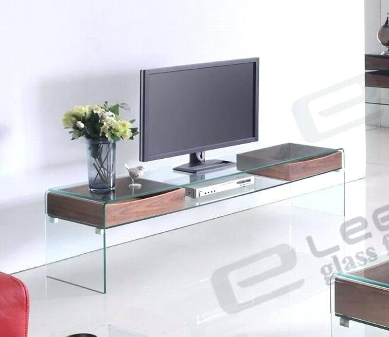 Tv Stand Designs Glass : Best ideas contemporary glass tv stands cabinet