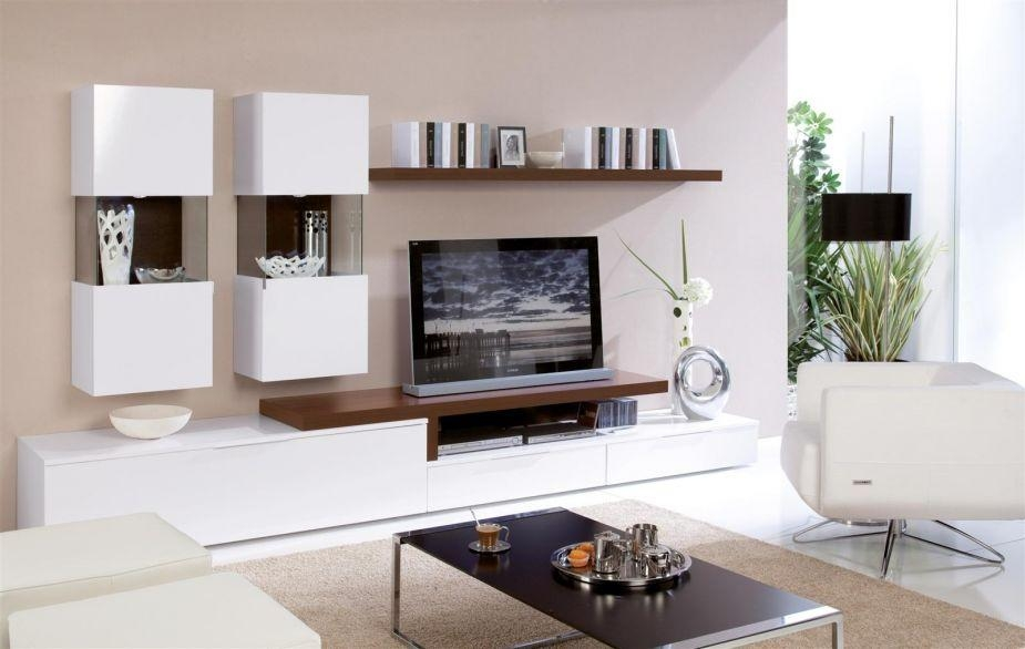 Tv Stand Modern White #1487 | Latest Decoration Ideas In Most Recent White Wall Mounted Tv Stands (Image 12 of 20)