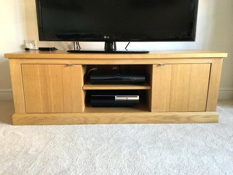 Tv Stand : Oak Veneer Corner Tv Stand Techlink Facet Ftp100Lo Tv Pertaining To Most Up To Date Oak Veneer Tv Stands (View 9 of 20)