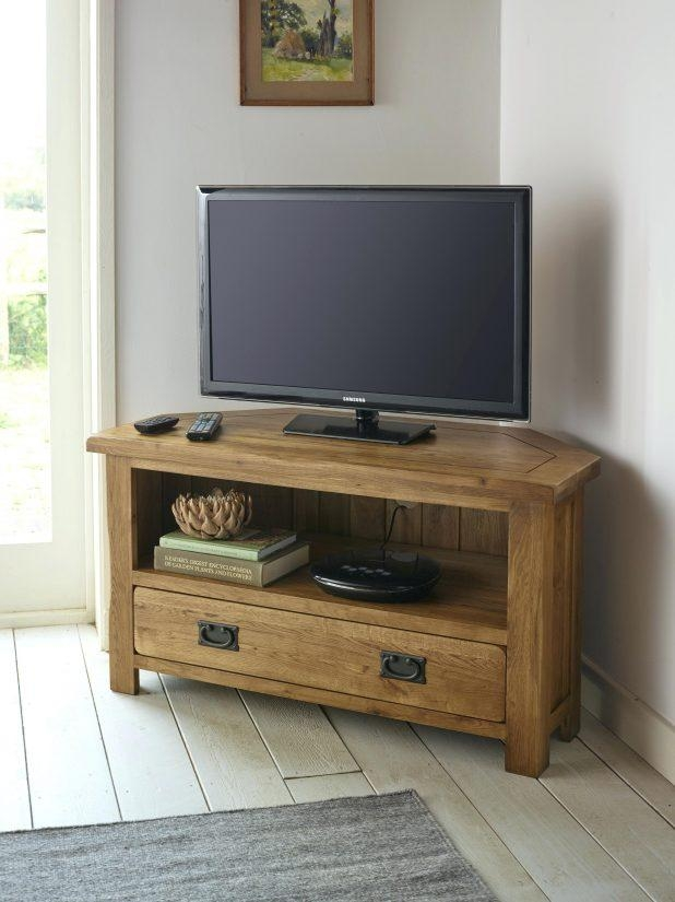 Tv Stand : Outstanding Default Name Furniture Design 124 Default Regarding 2017 Solid Oak Corner Tv Cabinets (View 19 of 20)