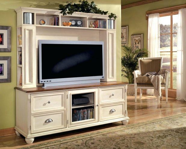 Tv Stand: Outstanding White Tall Tv Stand Pictures (View 9 of 20)