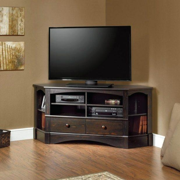 Tv Stand : Rg 057 21 Appealing Rg 057 Cherry Corner Tv Stand Pertaining To 2017 Light Cherry Tv Stands (Image 13 of 20)