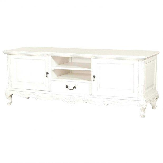 Tv Stand : Shabby Chic Vintage French Provincial Media Tv Stand Regarding Most Popular Shabby Chic Corner Tv Unit (View 19 of 20)