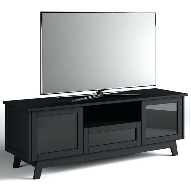 Tv Stand : Smoked Glass Tv Stand Tv Stand For Living Space Amazing Throughout Most Popular Black Glass Tv Cabinet (View 14 of 20)