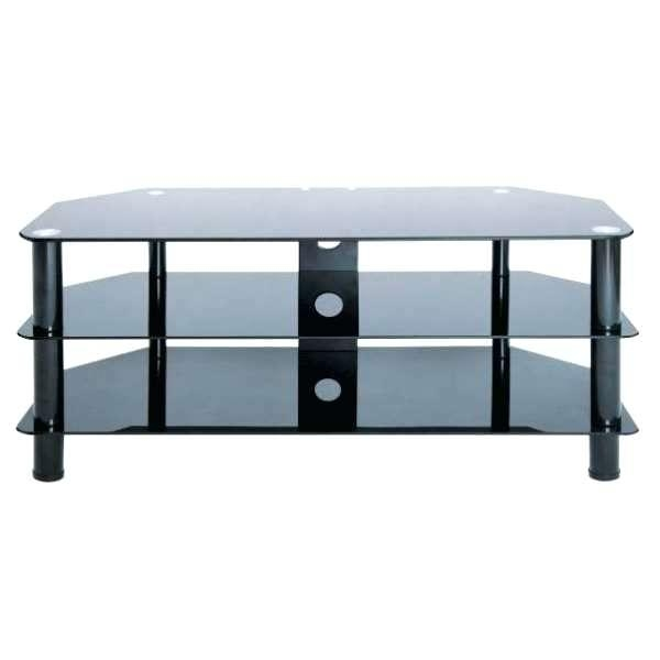 Tv Stand ~ Stil Stand Black Glass Corner Tv Stand Up To 50 With Newest Stil Tv Stands (Image 16 of 20)