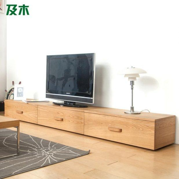 Tv Stand: Trendy Oak Veneer Tv Stand Design Ideas (View 6 of 20)