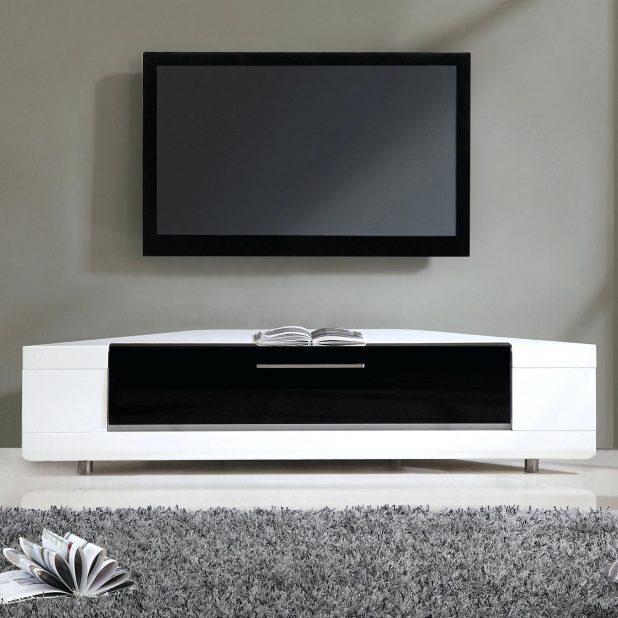 Tv Stand : Tv Cabinet High Gloss Black 121 70 Tv Stand Modern In Best And Newest White High Gloss Corner Tv Unit (Image 14 of 20)