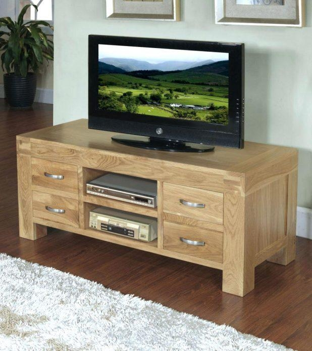Tv Stand : Tv Stand Design 59 Amazing Excellent Dark Oak Tv Stand in Latest Chunky Oak Tv Unit