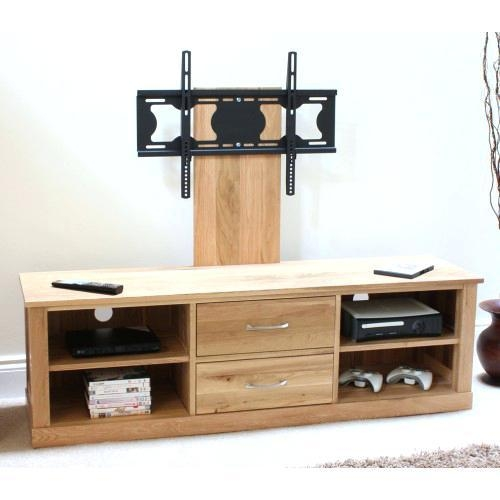 Tv Stand ~ Tv Stand For Flat Screen 42 Inch Oak Tv Cabinets For Throughout Recent Oak Tv Cabinets For Flat Screens With Doors (View 3 of 20)