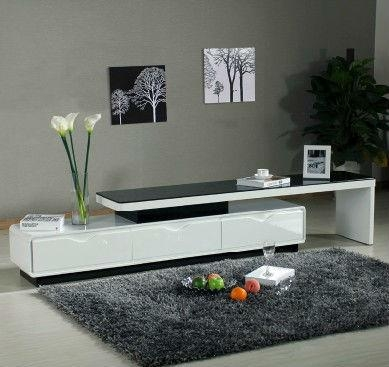 Tv Stand, Tv Stand Suppliers And Manufacturers At Alibaba Within Best And Newest High Gloss White Tv Stands (Image 18 of 20)