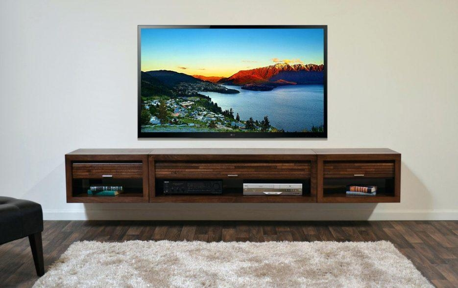 Tv Stand : Tv Stand With Cabinet Doors Decoration Ideas Collection Throughout Most Current Under Tv Cabinets (View 15 of 20)