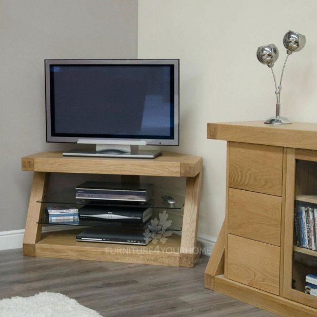 Tv Stand : Tv Stands Tv Stand Oak Oak Tv Stands For Flat Screen Pertaining To 2017 Birch Tv Stands (View 17 of 20)