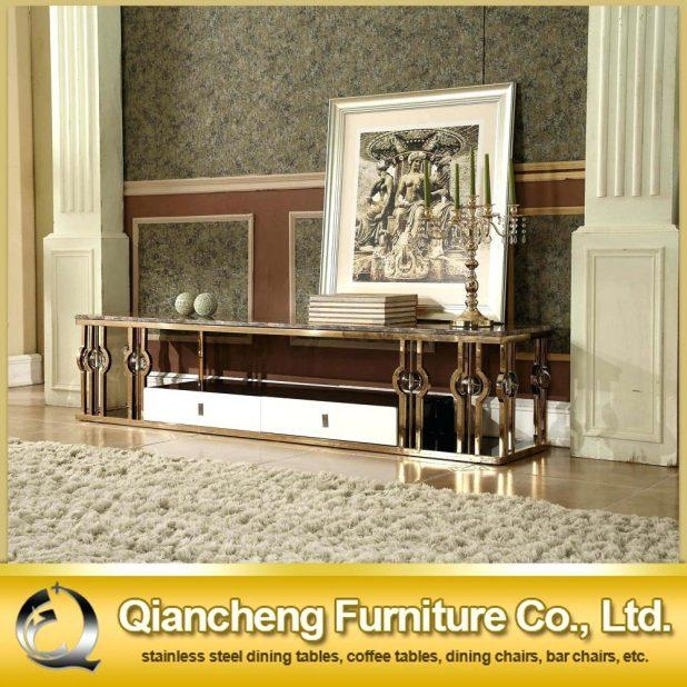Tv Stand : Urban Gold 76 Inch Tv Stand 10 Tt 01 Gold Trendy Tt 01 Regarding 2017 Gold Tv Cabinets (Image 17 of 20)