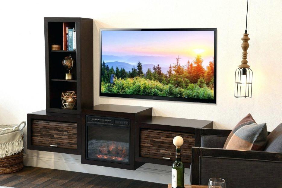 Tv Stand : Wall Mounted Tv Stand Ikea Outstanding How To Install A With Regard To Current Wall Mounted Tv Stands For Flat Screens (Image 16 of 20)
