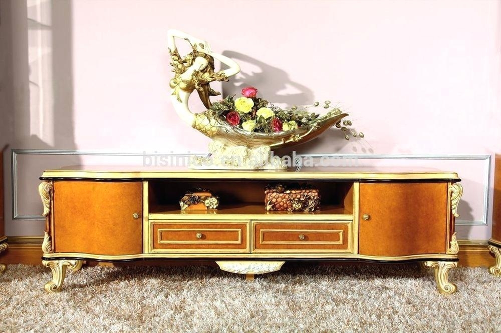 Tv Stand ~ White French Tv Stand Luxury French Baroque Style Pertaining To Recent French Country Tv Cabinets (View 14 of 20)
