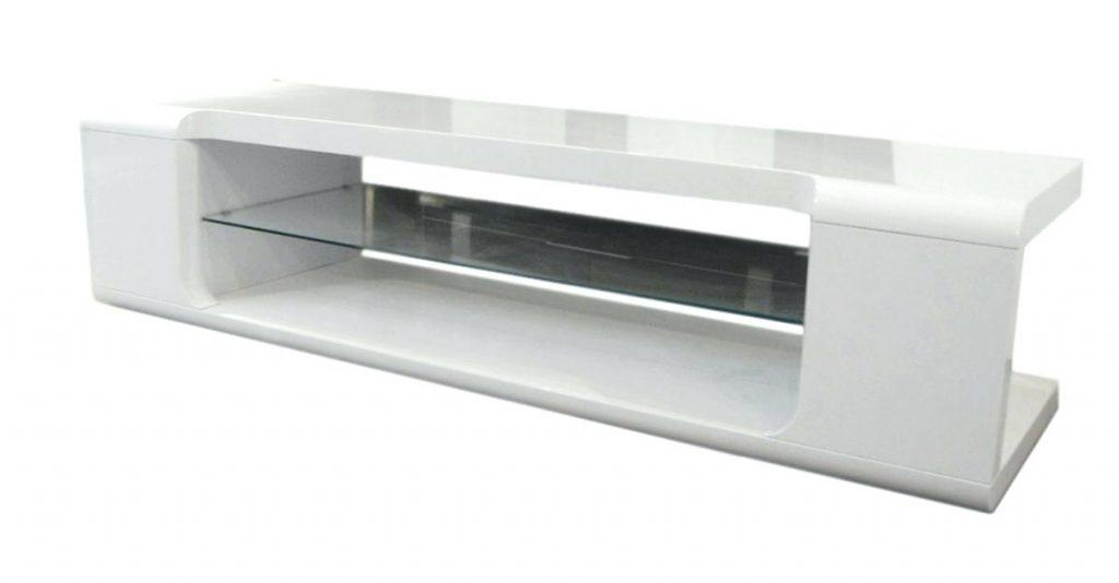 Tv Stand ~ White Gloss Tv Stand With Led Lights Buy Modern Tv Within Most Popular High Gloss White Tv Cabinets (Image 17 of 20)