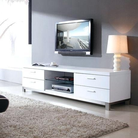 Tv Stand ~ White Tv Stand 100Cm 100 Cm Width White Tv Stand White Pertaining To 2018 Tv Unit 100Cm Width (Image 15 of 20)