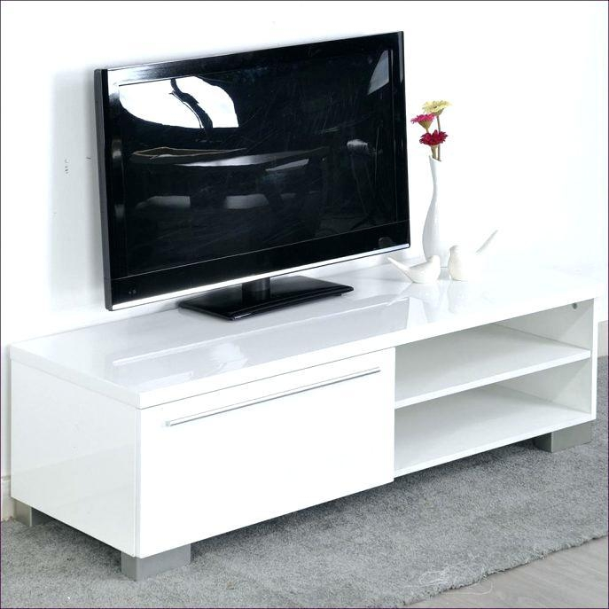 Tv Stand ~ White Tv Stand 100Cm Medium Size Of Bedroomslim Black In Most Recently Released Tv Unit 100Cm Width (Image 16 of 20)