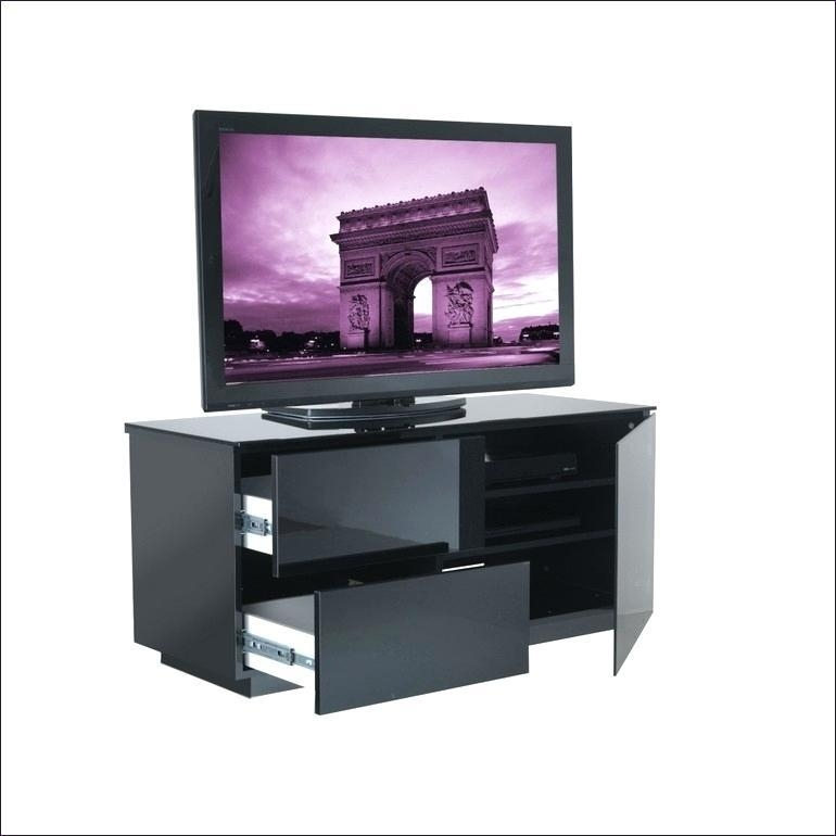 Tv Stand ~ White Tv Stand 100Cm Medium Size Of Bedroomslim Black Intended For 2017 Tv Stand 100Cm Wide (Image 16 of 20)