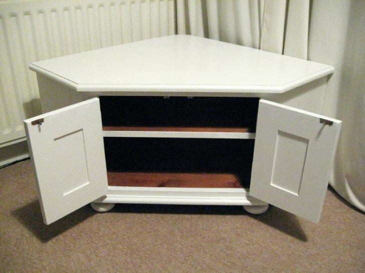 Tv Stand ~ White Wooden Corner Tv Stand White Small Corner Tv Inside Most Up To Date Low Corner Tv Cabinets (Image 18 of 20)