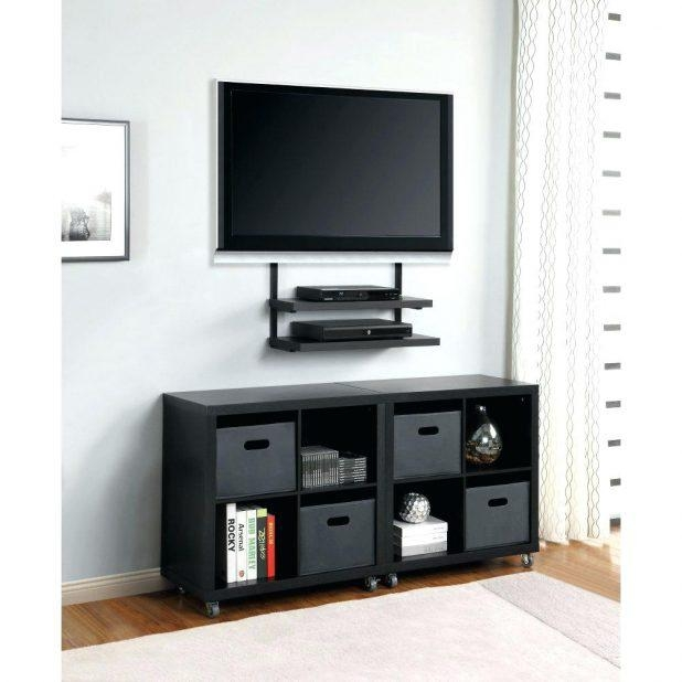 Tv Stand : Winsome Sirius 850 Walnut And Black Corner Tv Cabinet Within Most Popular 40 Inch Corner Tv Stands (View 11 of 20)