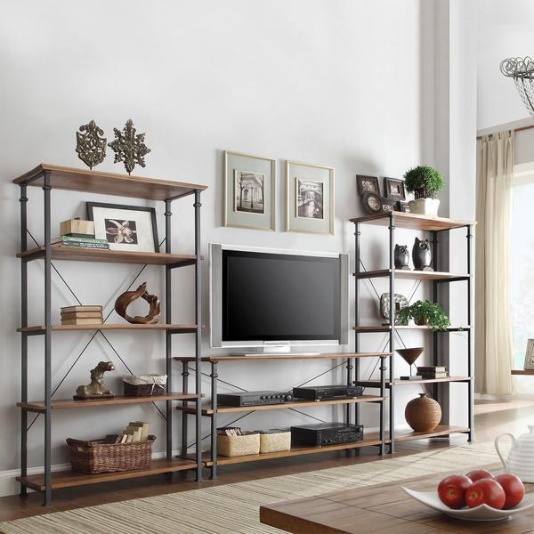 Tv Stand With Bookshelves | Delmaegypt With Most Recent Tv Stands With Bookcases (View 14 of 20)