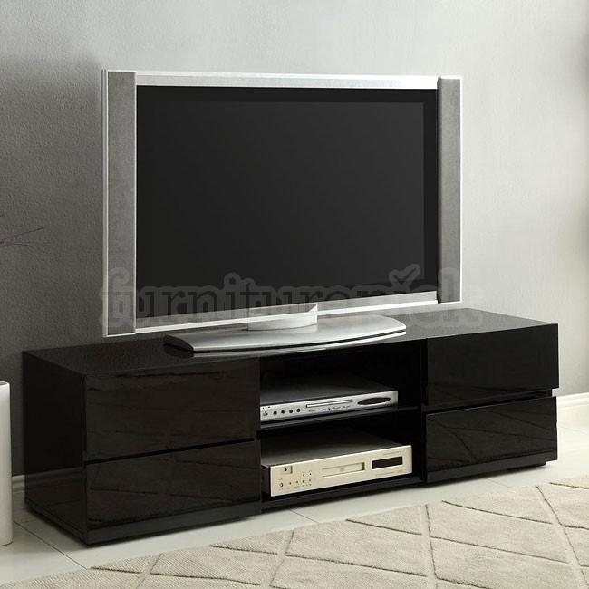 Tv Stand With Drawers | Home Design Throughout Most Up To Date Black Tv Stands With Drawers (Image 20 of 20)