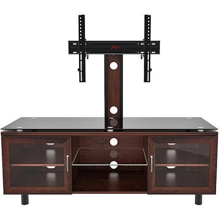 Tv Stand With Mount Black – Tv Stand With Mount Completed With With Best And Newest Tv Stand With Mount (Image 15 of 20)