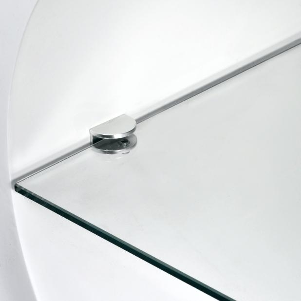 Tv Stand: Wonderful Oval White Tv Stand For Room Ideas (Image 20 of 20)