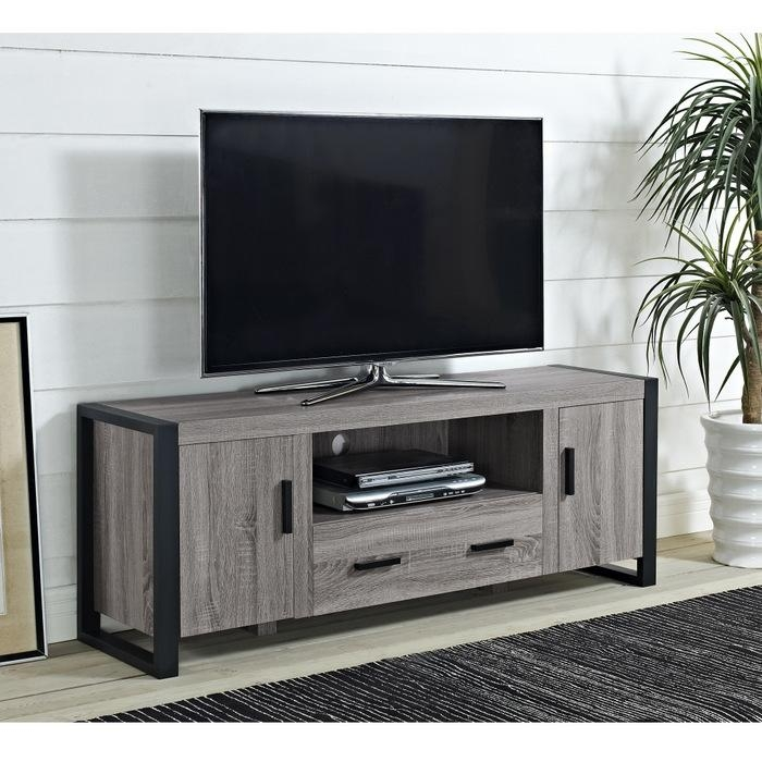 Tv Stands And Media Centers At Brookstone (View 14 of 20)
