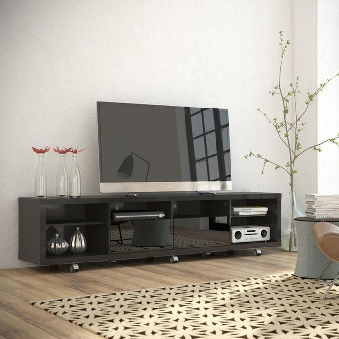 Tv Stands And Media Centers At Brookstone (Image 16 of 20)