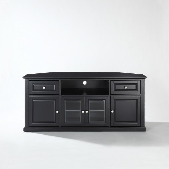 Tv Stands For 60 Inch Flat Screens – Furniture Depot Intended For Current Black Corner Tv Cabinets (Image 20 of 20)