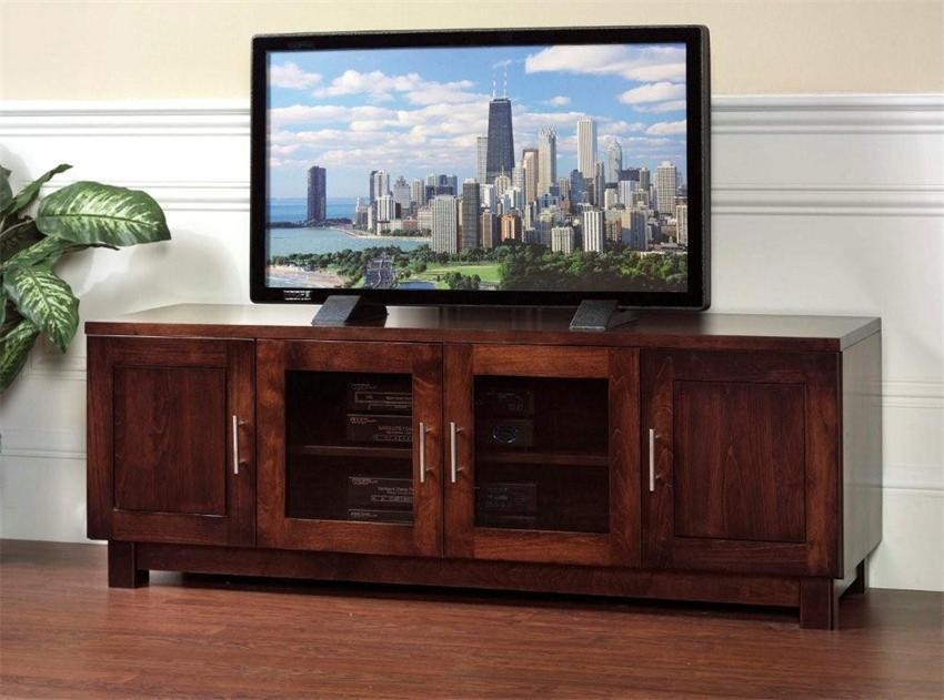 Tv Stands For Flat Screens: Unique Led Tv Stands In Most Current Wooden Tv Stands For Flat Screens (View 4 of 20)