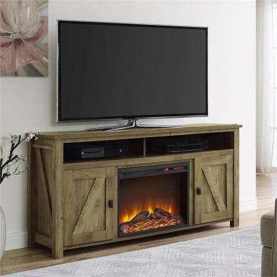 Tv Stands – Living Room Furniture – The Home Depot Within Best And Newest Light Colored Tv Stands (Image 15 of 20)