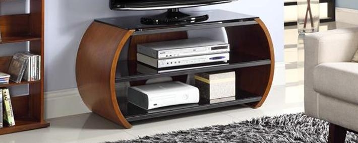 Tv Stands & Media Consoles | Buy Online Or Click And Collect Regarding Most Popular Tv Unit 100Cm (Image 11 of 20)