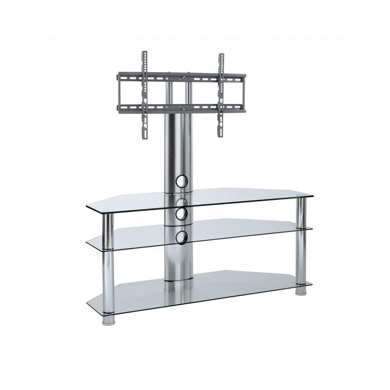 Tv Stands With Mount | Cantilever Tv Stands | Mmt Furniture Regarding Recent Swivel Black Glass Tv Stands (View 17 of 20)