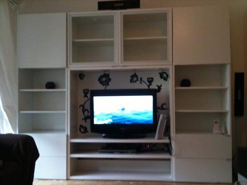 Tv Storage Cabinet – Valeria Furniture In Current Tv Cabinets With Storage (Image 14 of 20)