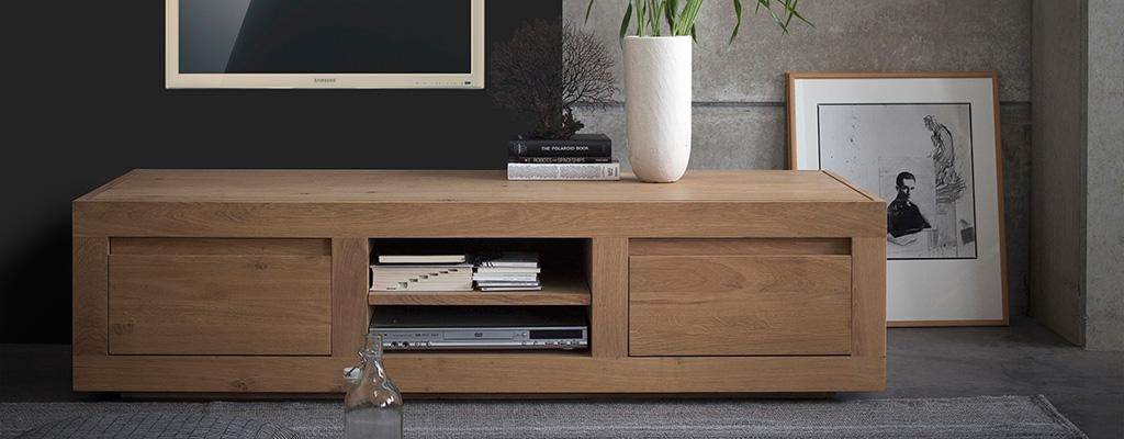 Tv Tables: Oriental Chinese Lacquer & Solid Oak Tv Units From 4Living Throughout Most Recent Contemporary Oak Tv Cabinets (Image 19 of 20)