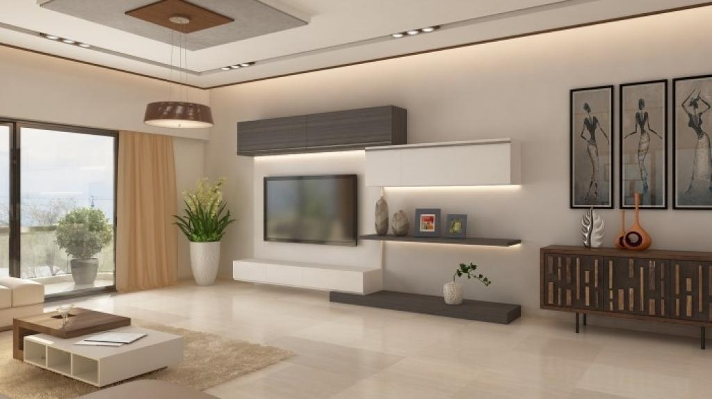Tv Unit Designs For Living Room 7 Cool Contemporary Tv Wall Unit Intended For Recent Contemporary Tv Wall Units (View 13 of 20)